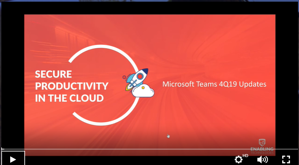 Teams Updates Webinar Thumbnail