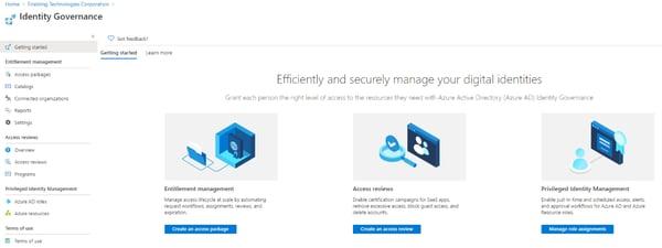 Azure Active Directory Identity Governance